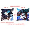Black rock shooter double sides pillow