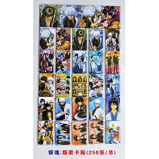 Gintama stickers(250pcs a set)