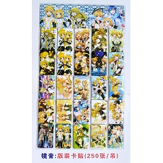 Rin and Len stickers(250pcs a set)