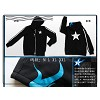 Black rock shooter cosplay cloth