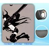 Black rock shooter mouse pad