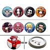 One piece pins(8pcs a set)