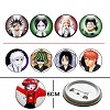 Bleach pins(8pcs a set)