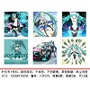 Hatsune Miku cleaning cloth(6pcs a set)