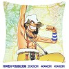 One piece double siedes pillow