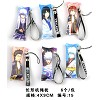 Gintama small pillow phone straps(6pcs a set)