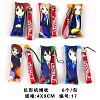K-on small pillow phone straps(6pcs a set)
