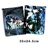 Black rock shooter documents pouch