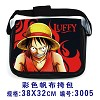 One piece canvas bag