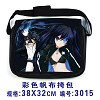 Black rock shooter canvas bag