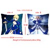 Fate stay night double sides pillow(45X45CM)