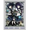 Black rock shooter wallscroll BH-1210