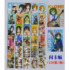 K-ON! stickers(250pcs a set)