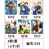 Axis Powers Hetalia mouse pads(6pcs a set)