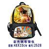 One piece anime canvas backpack
