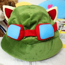 LOL Teemo plush hat
