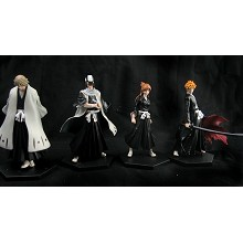 Bleach anime figures(4pcs a set)