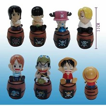 One piece figures(7pcs a set)