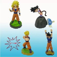 Dragon ball figures(4pcs a set)