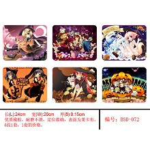 TRICK OR TREAT mouse pads(6pcs a set)BSD072