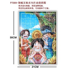 One piece Puzzles(70pcs a set)PT099