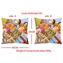 One piece double sides pillow BZ195