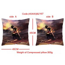 One piece double sides pillow BZ197
