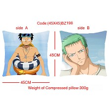 One piece double sides pillow BZ198
