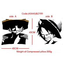 One piece double sides pillow BZ199