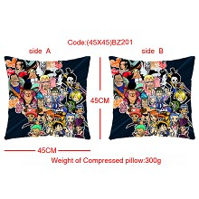 One piece double sides pillow BZ201