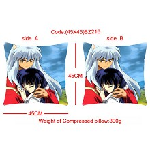 Inuyasha double sides pillow BZ216