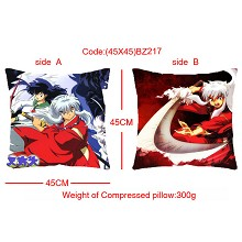 Inuyasha double sides pillow BZ217