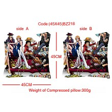 One piece double sides pillow BZ218
