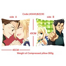 Fate stay night double sides pillow BZ230