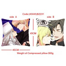 Fate stay night double sides pillow BZ231