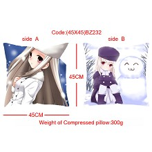 Fate stay night double sides pillow BZ232