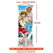 One piece wallscroll(50X150)BH056