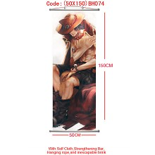 One piece wallscroll(50X150)BH074