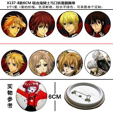 Vampire Knight pins(8pcs a set)X137