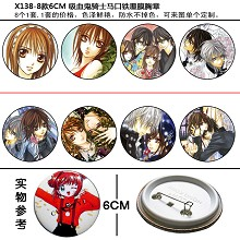 Vampire Knight pins(8pcs a set)X138