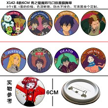 Ao no Exorcist pins(8pcs a set)X142