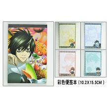 Death note Notepads/notebooks(4pcs)
