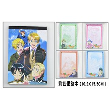 The prince of tennis Notepads/notebooks(4pcs)