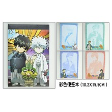 Gintama Notepads/notebooks(4pcs)