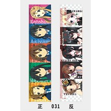 K-ON! rulers(10pcs a set)