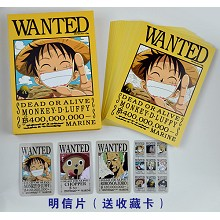 One piece postcard