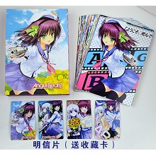 Angel beats postcard