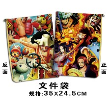 One piece documents bag