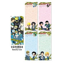 Reborn notepads/notebooks(4pcs)