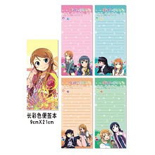 My sister notepads/notebooks(4pcs)